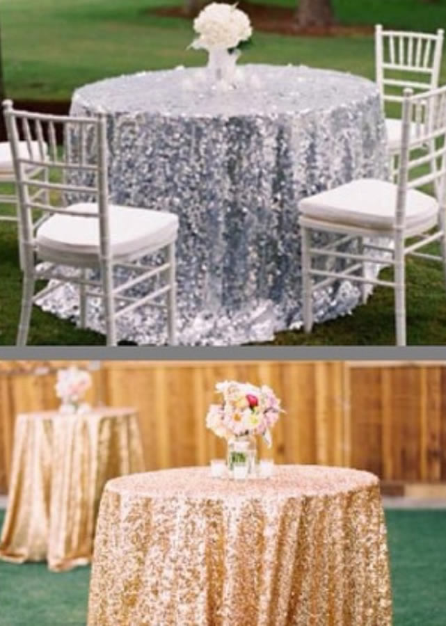 Sequin tablecloth 3-2