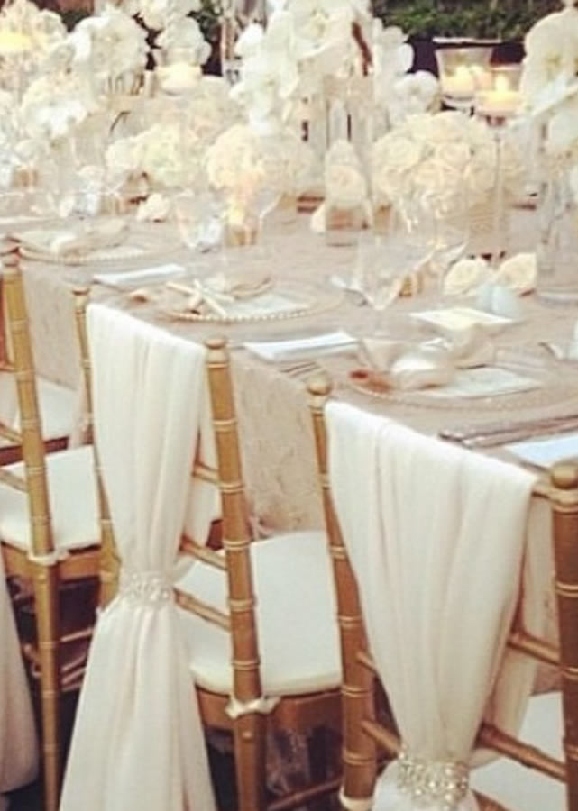 Wedding chair covers 6