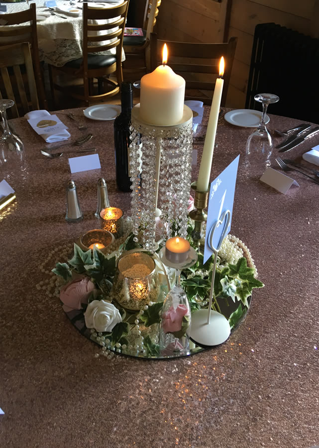 Sequin tablecloth 1