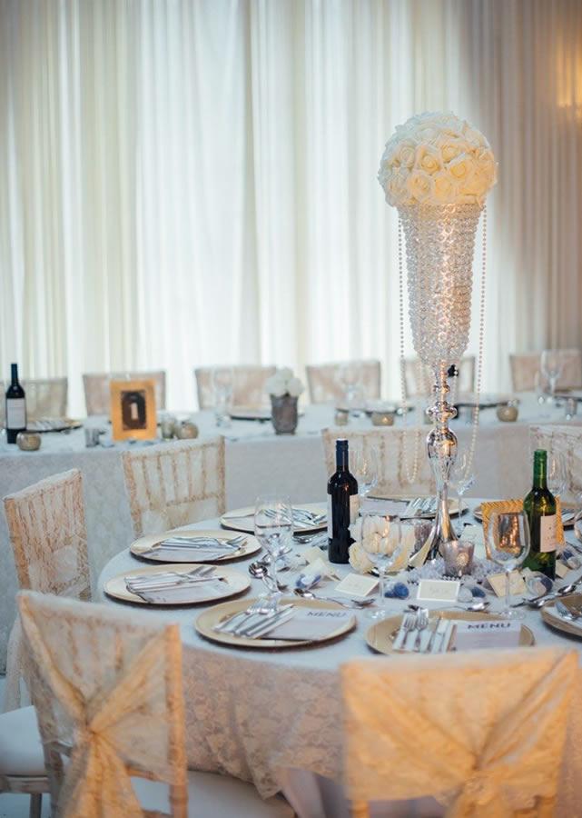 Wedding table centrepiece 4