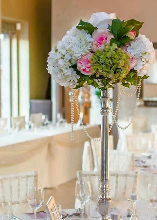 Wedding table centrepiece 5