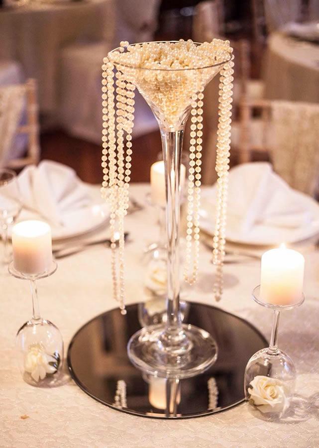 Wedding table centrepiece 7