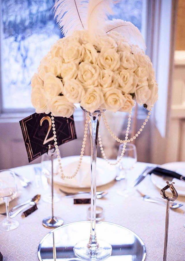 Wedding table centrepiece 8